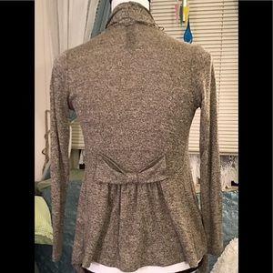 🇦🇷 Zoah Design brown mix cardigan S